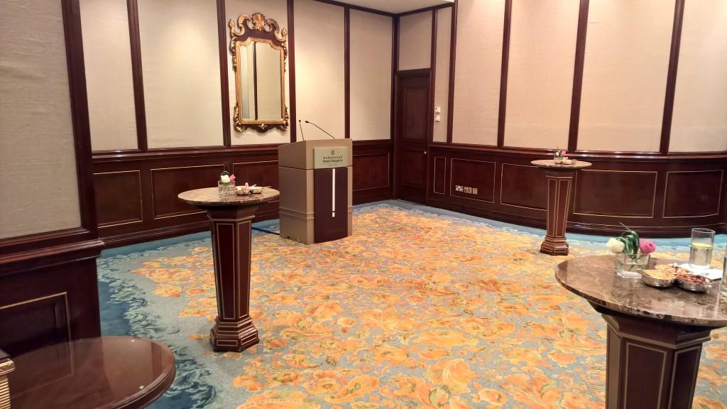 The main hall of Huashan Room