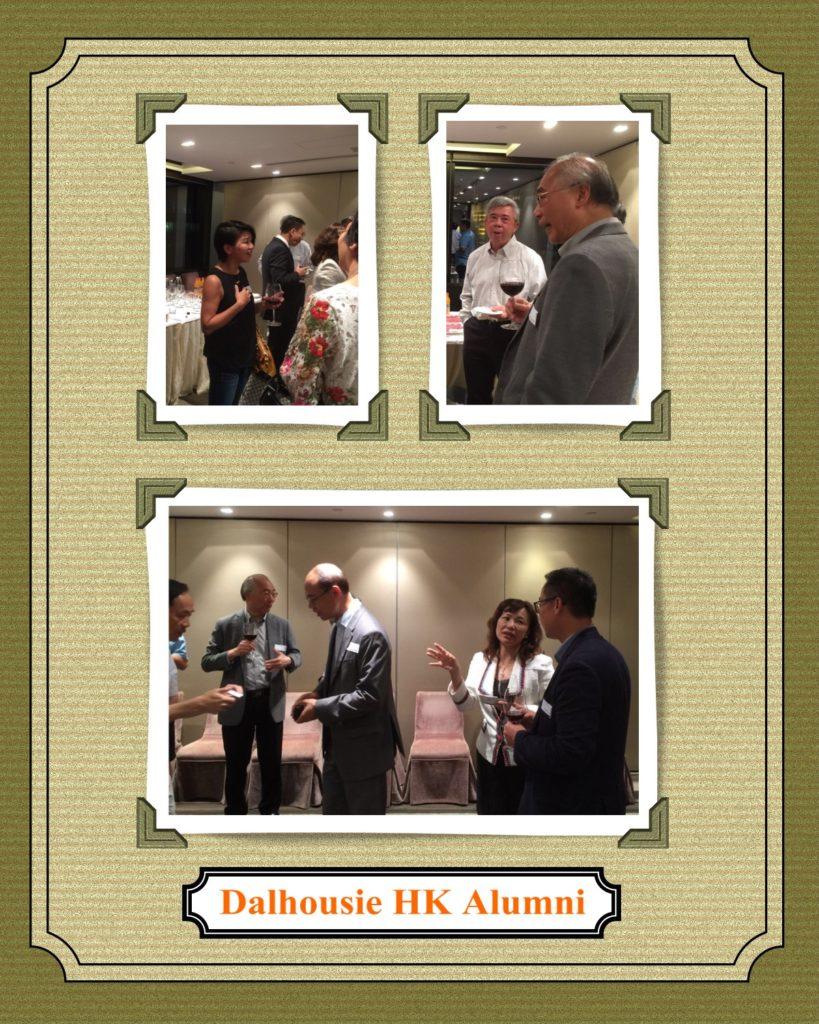 The guests from Dalhousie alumni were Peter Chow, Olivia Tsang, Luk Ming, Victor Yau, Joe Su and Sherman Cai.
