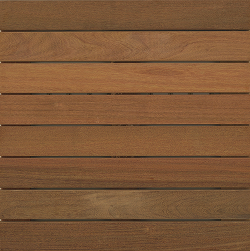 Bison 2x2 Ipe Smooth Wood Tile