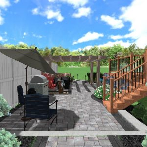 3d Landscape Design Concept