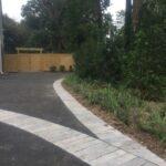 Asphalt Driveway With Paver Detail