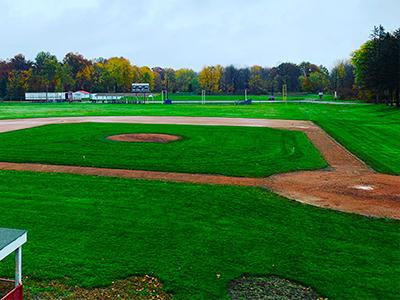 Sports Field Landscape Management Beloit Ohio Smith Landscaping