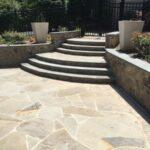 Irregular Blue Stone Steps