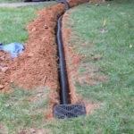 Catch Basin Piping Installation