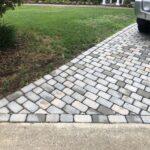 Cobblestone Paver Driveway