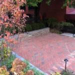 Dry Laid Brick Patio