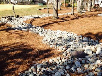 Landscape Drainage Contractor  Smith Landscaping Beloit Ohio