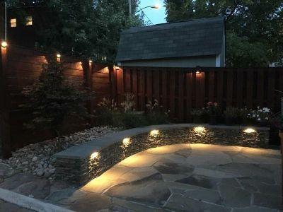 LED Landscape Lighting Design Smith Landscaping Beloit Ohio