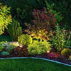 Landscape lighting design and installation