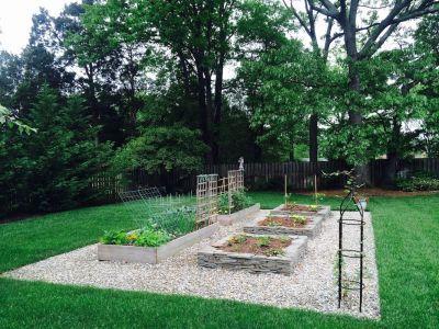 Raised Garden Installation Smith Landscaping Beloit Ohio