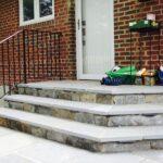 Custom Stone Steps and Walkway