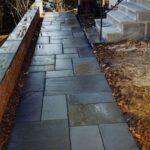 Dimensional Stone Walkway