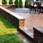 Patio brick cleaning and restoration service