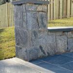 Stone Wall End Cap