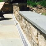 Retaining Wall with Drainage