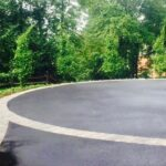 Round Driveway with Pavers