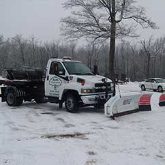 Snow and ice removal services