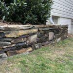 Mortared Stone Wall