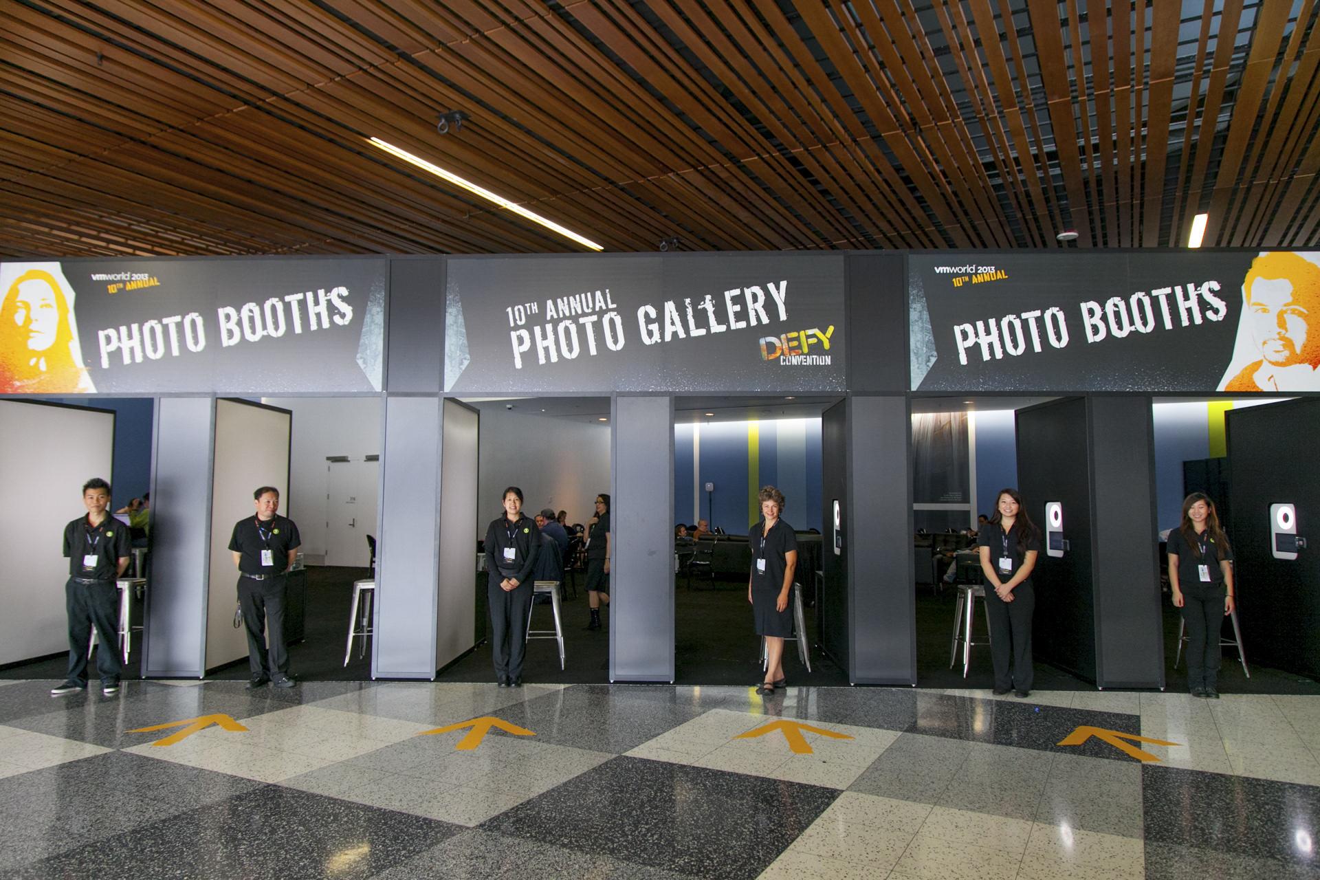 VMWorld Photo Booths