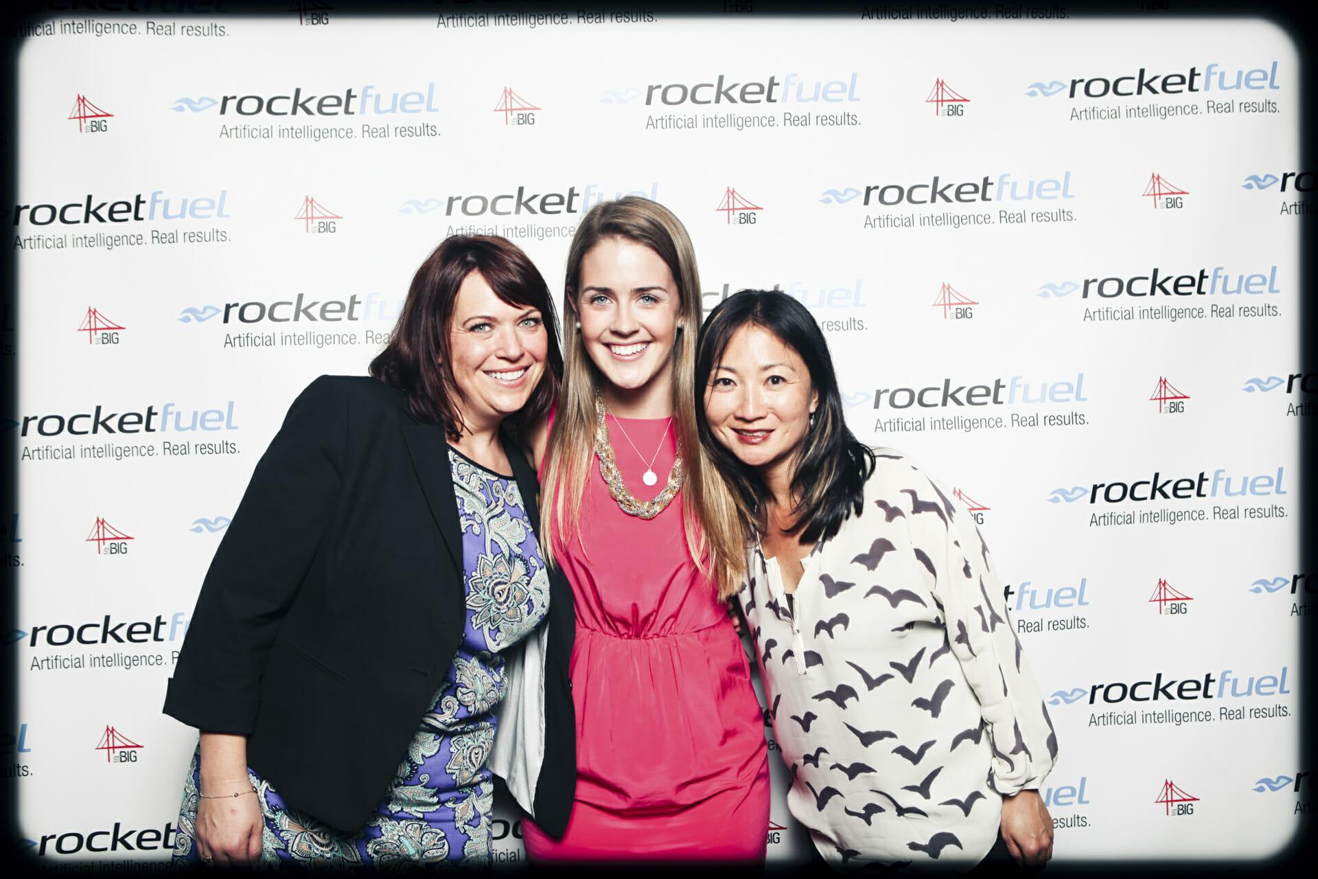 Rocket Fuel photo booth