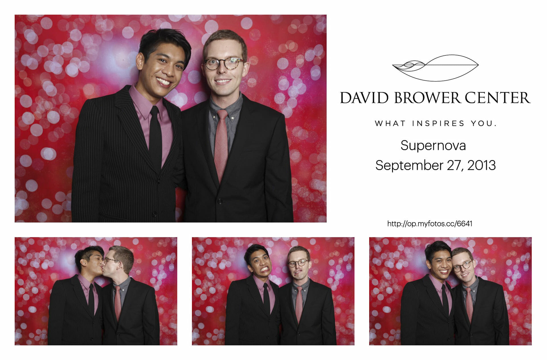 photo booth print example
