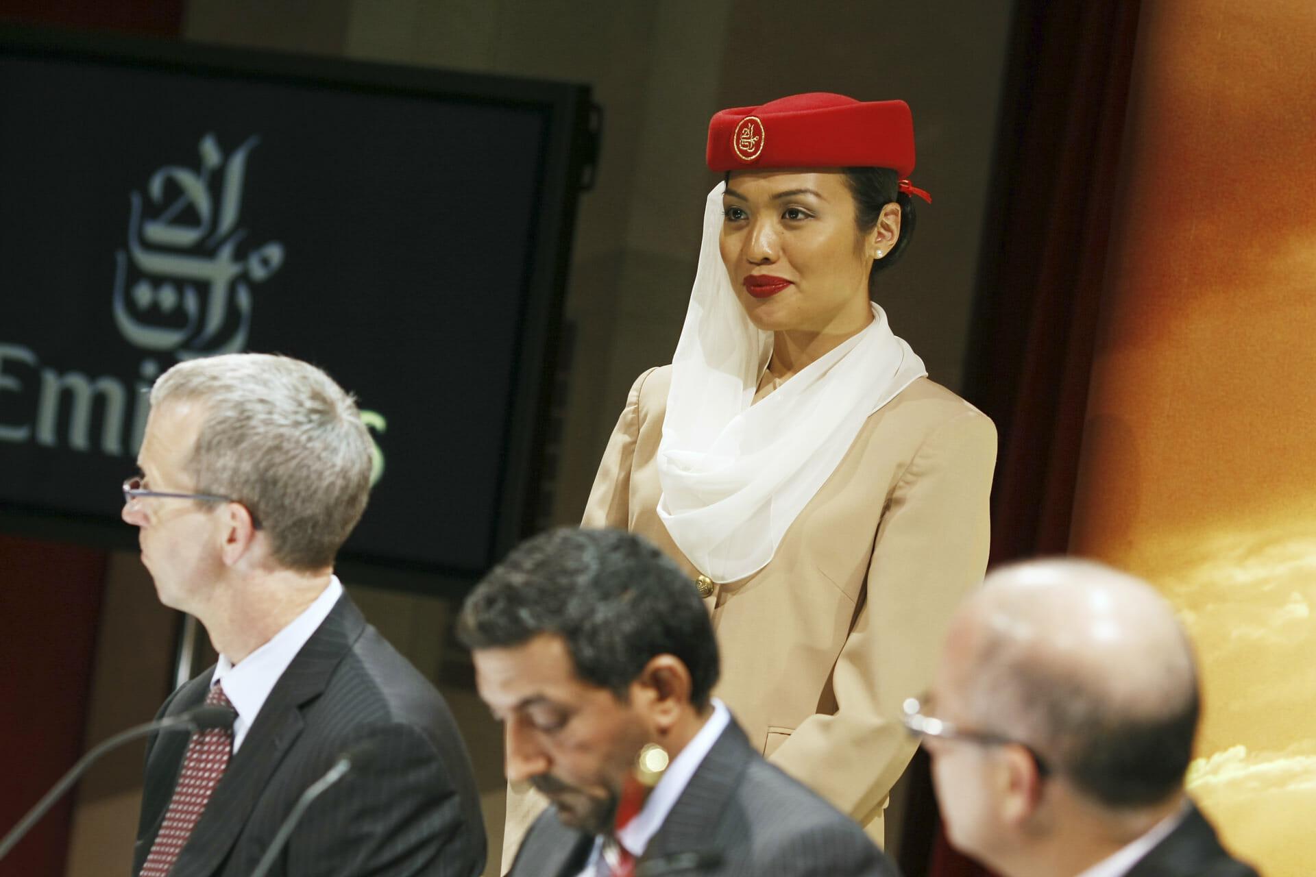 Emirates Air Inaugural Flight @ SFO