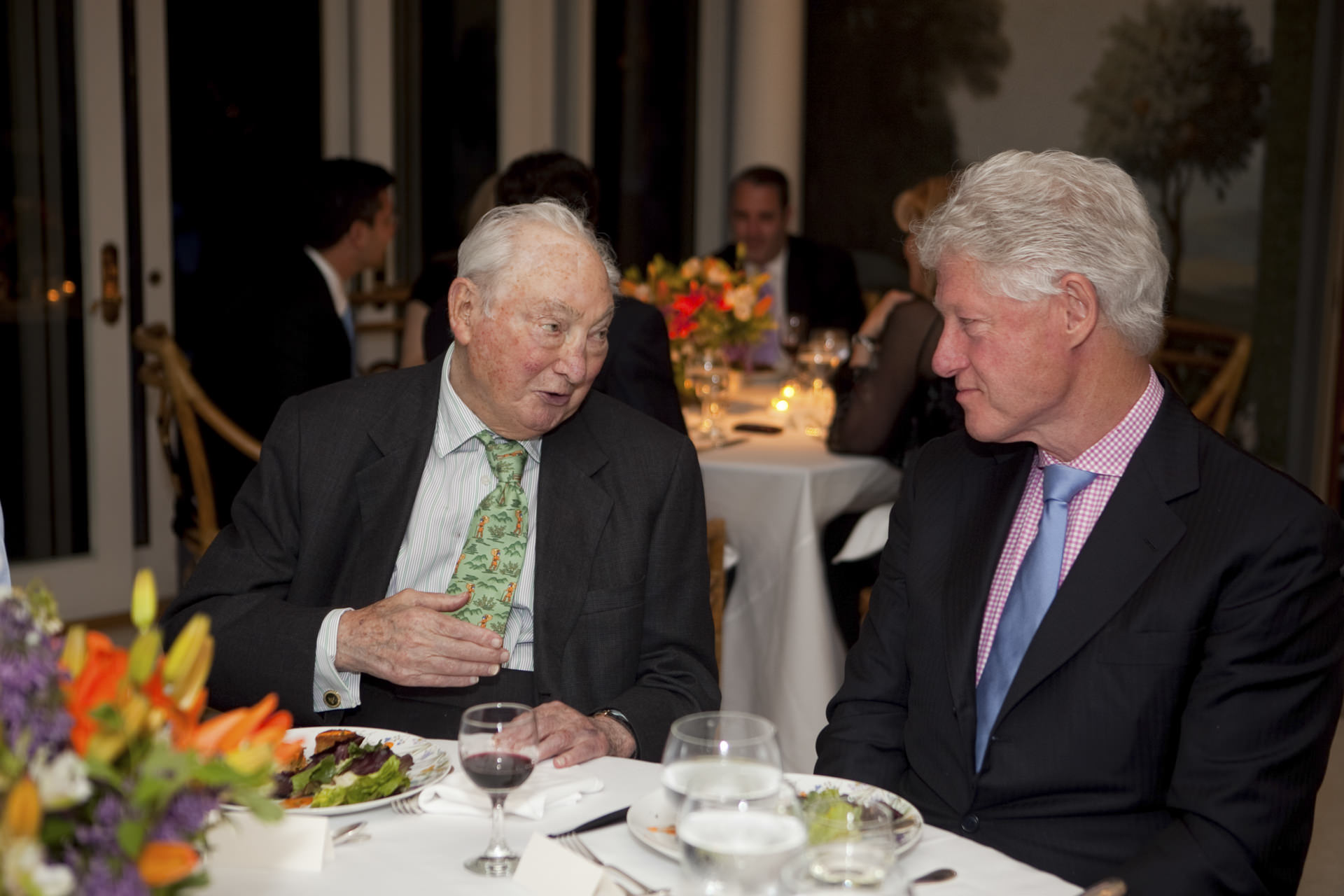 President William Jefferson Clinton benefit