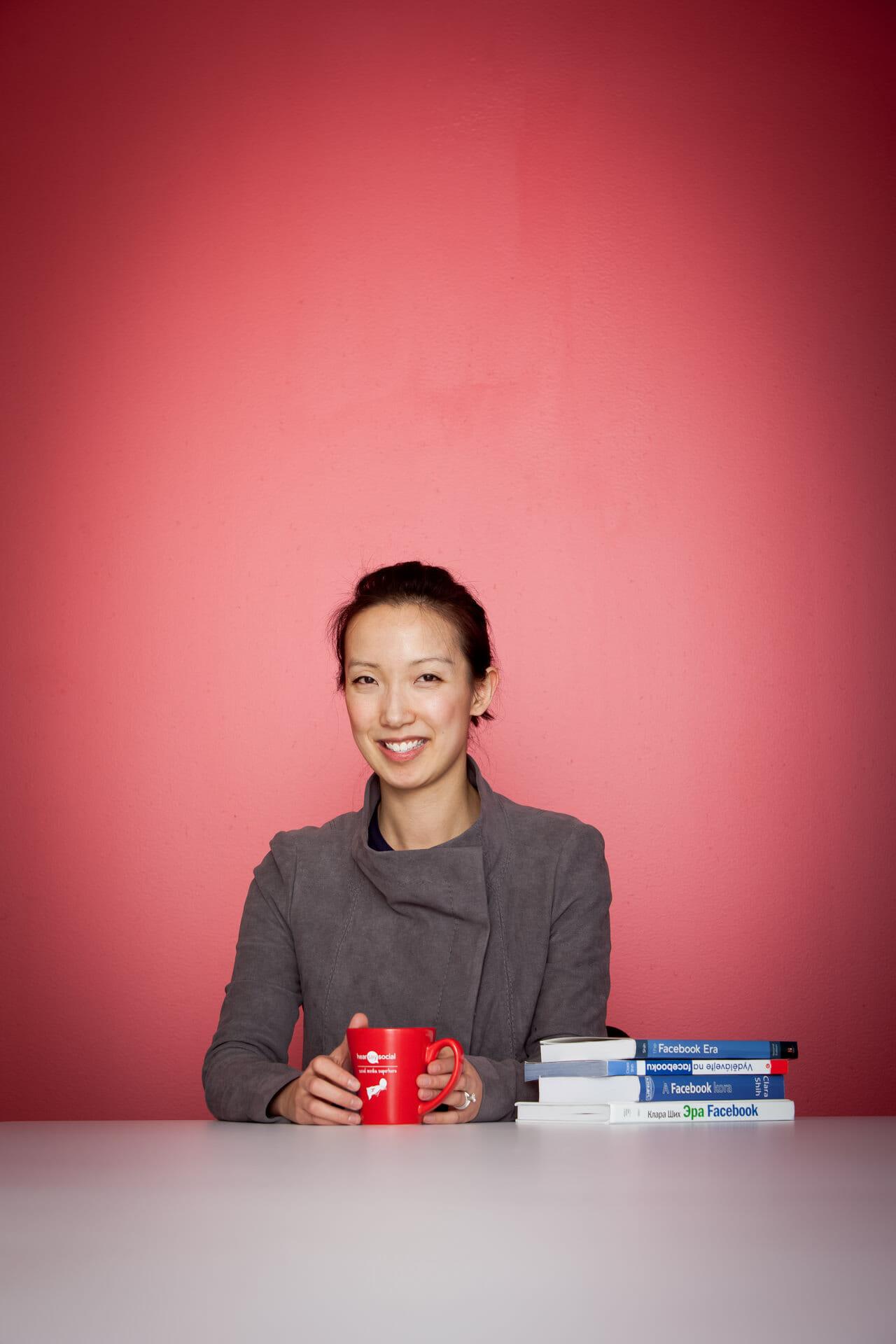 Clara Shih - Hear Say Social - SOMA Magazine shoot - San Francisco, CA, USA