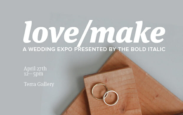 Spring in Slow Motion at The Bold Italic's Love/Make Bridal Expo