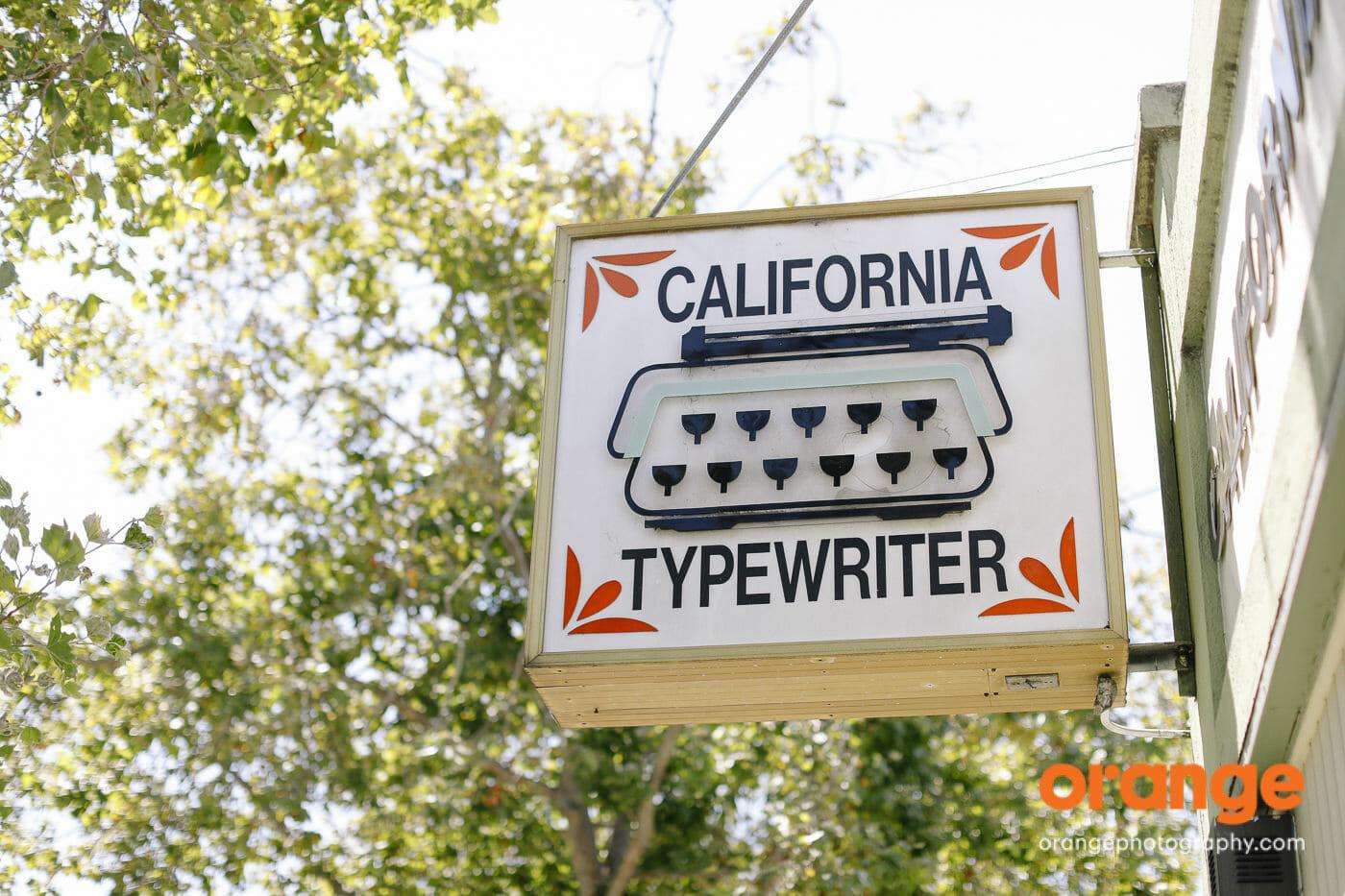 California Typewriter: analog inspiration