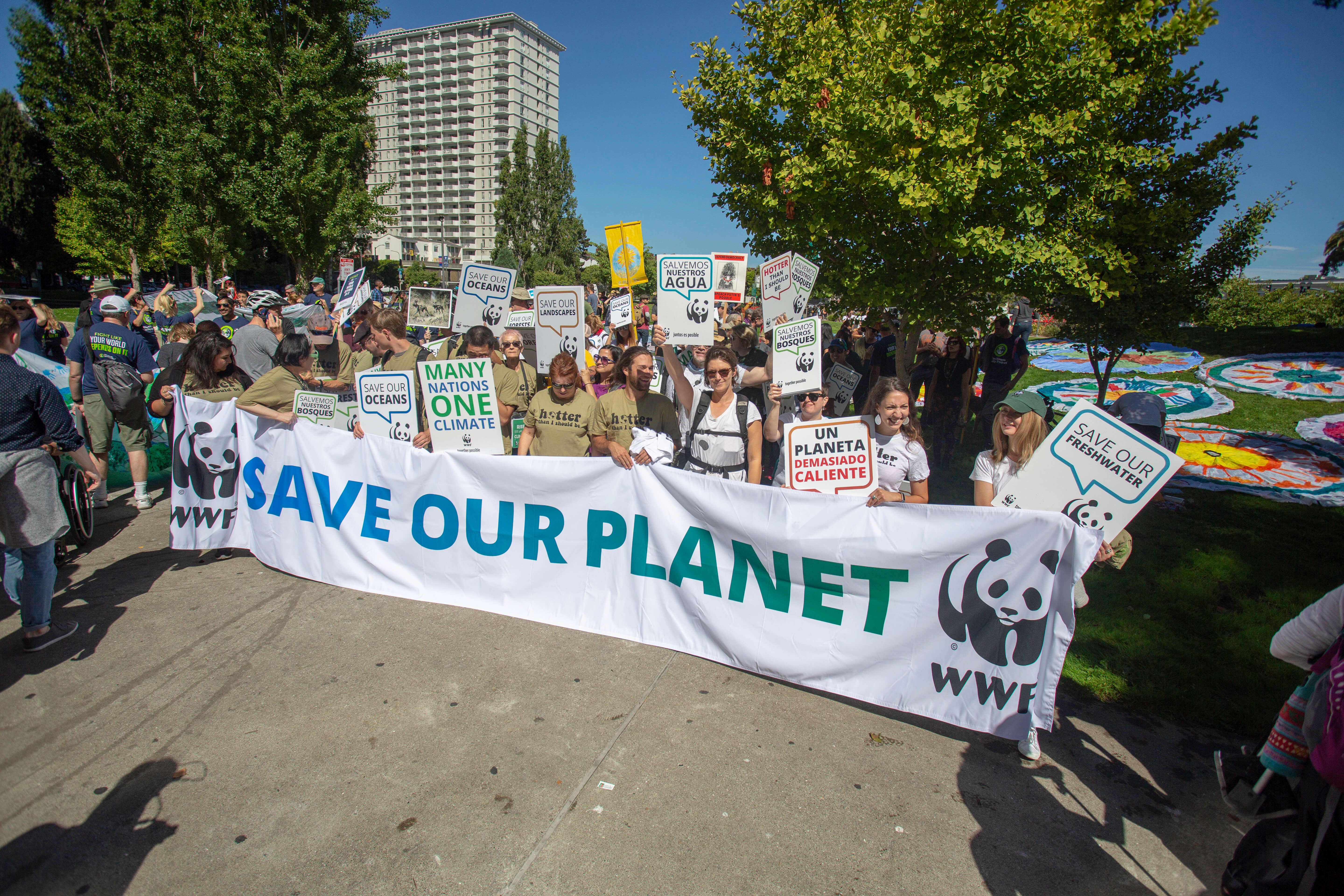 WWF Climate March