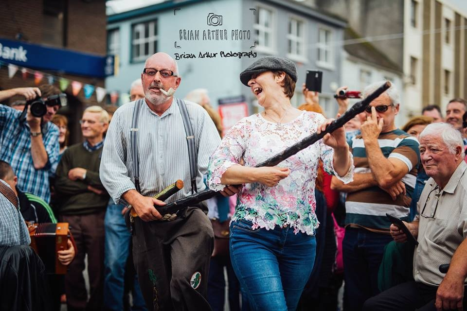 Kevin Cunniffe and Kathleen Bourke dance at the height at the Fleadh. Pic: Brian Arthur