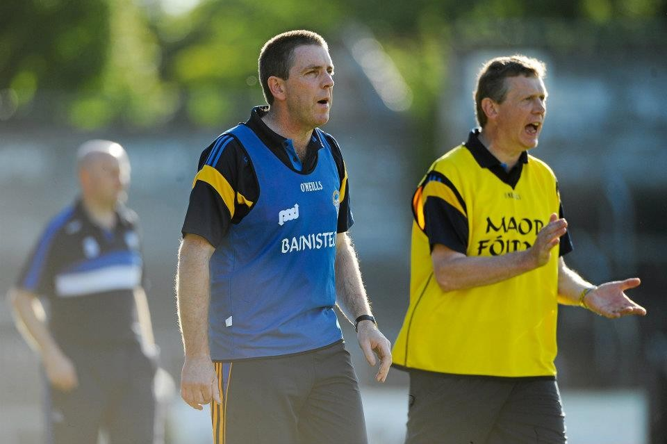 Gerry O'Connor & Donal Moloney. Pic Diarmuid Greene