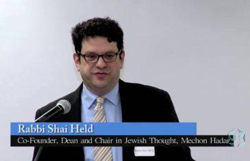 Progress Torah Shai Held