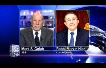 Rabbi Hier at Inauguration
