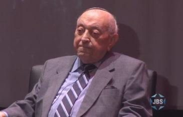 Author and Holocaust Survivor Dr. Moshe Avital