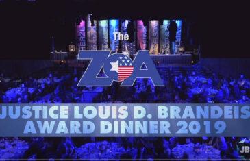 2019 ZOA Gala: Danon/O'Brien/Pirro