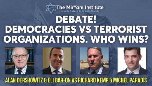 Democracies versus Terror Organizations