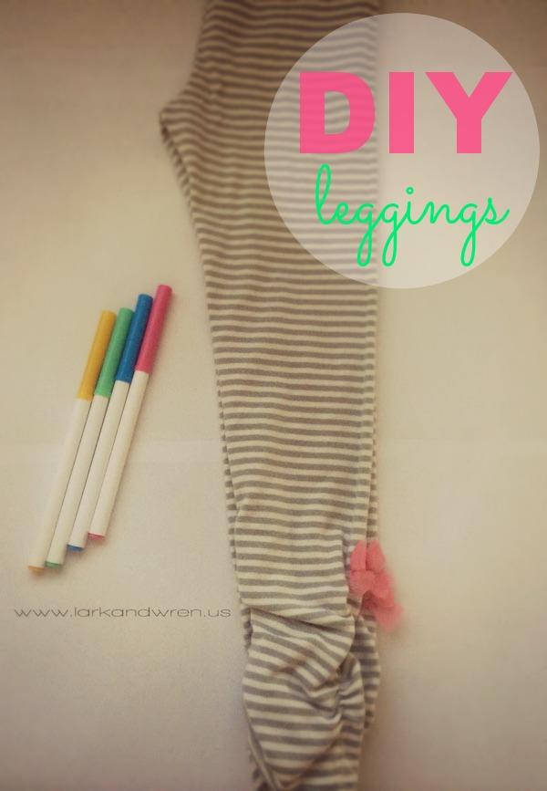 DIY Leggings Tutorial