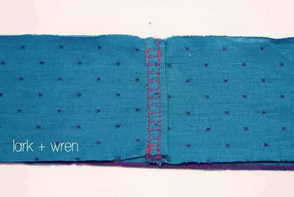 Reversible Knit Skirt Tutorial