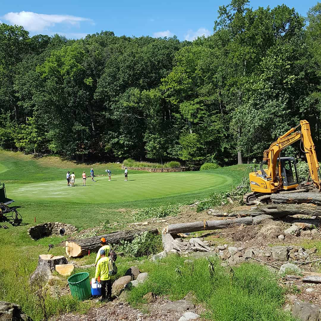 NJ Golf Course Landscaping Services