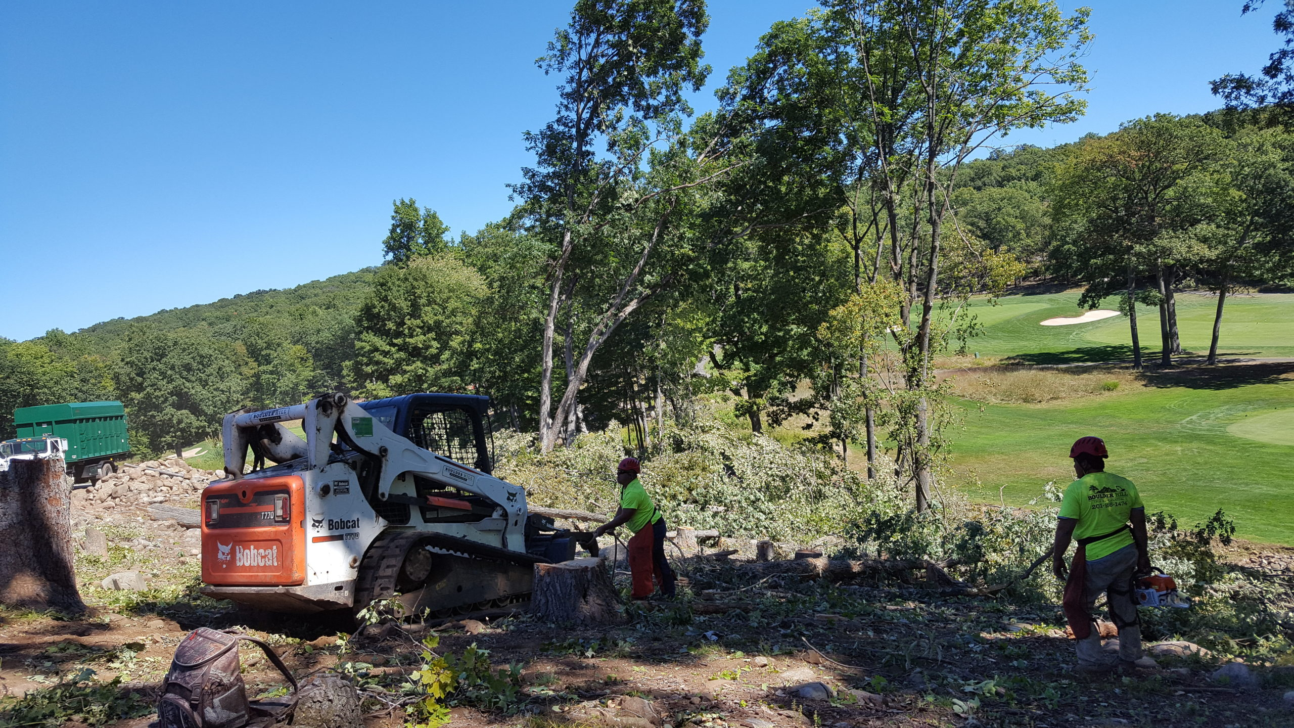 Golf Course Tree Clearing Boulder Hill