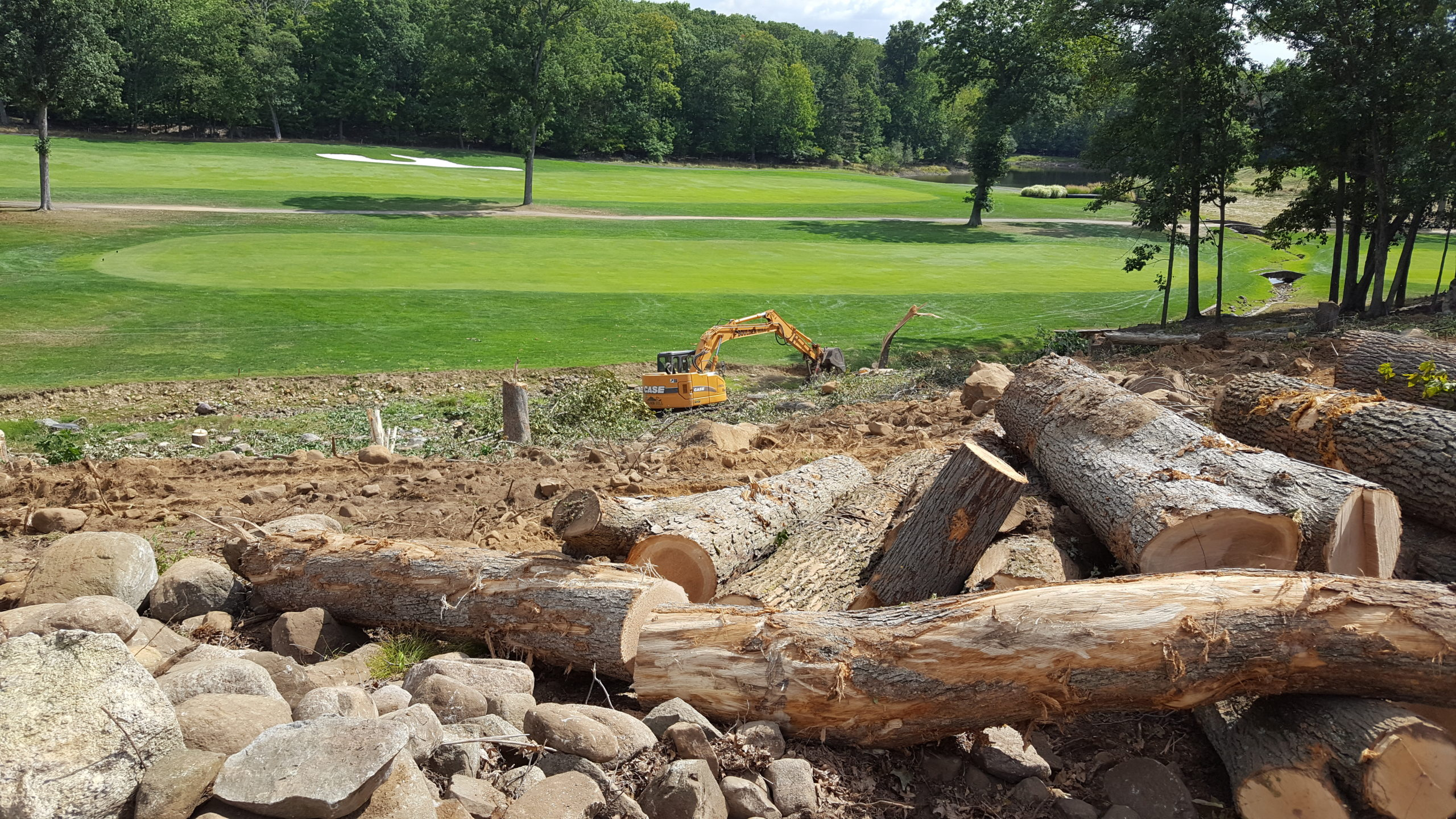 Golf Course Land Clearing Boulder Hill