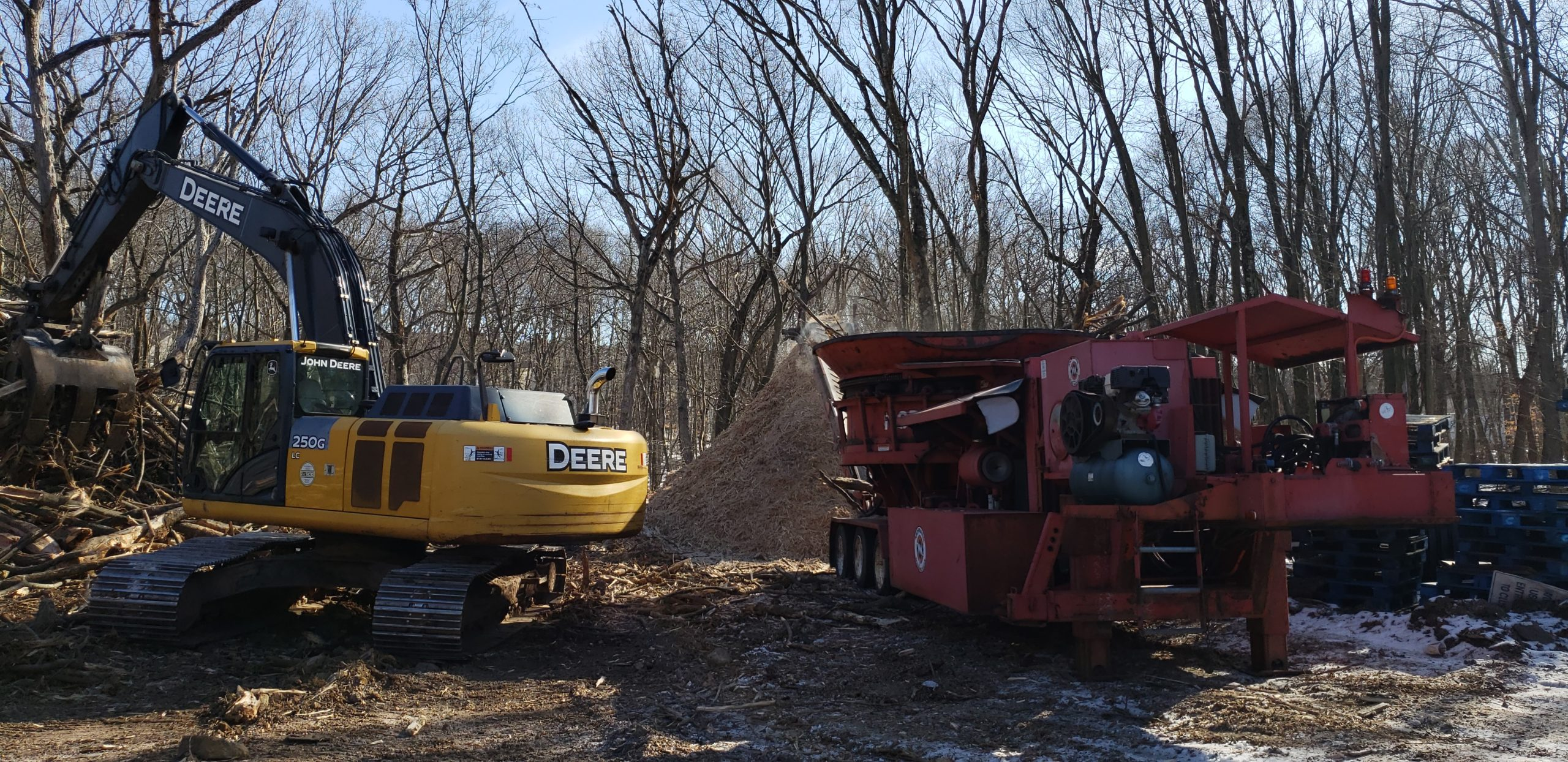 Tub Grinding Machinery - Tree Removal Services NJ