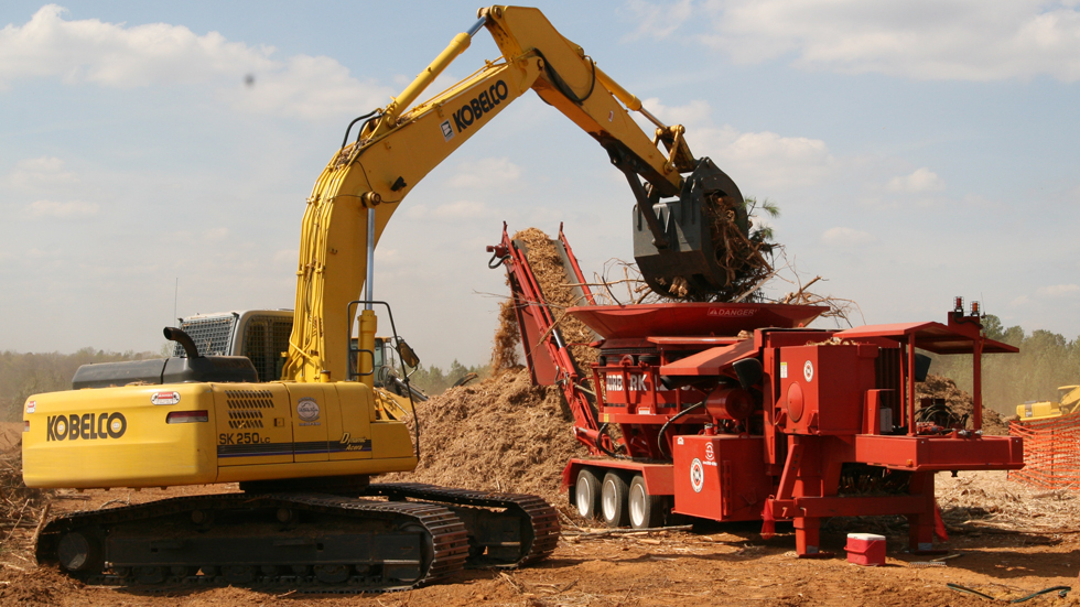 Wood Grinding Material - Tub Grinding Services NJ