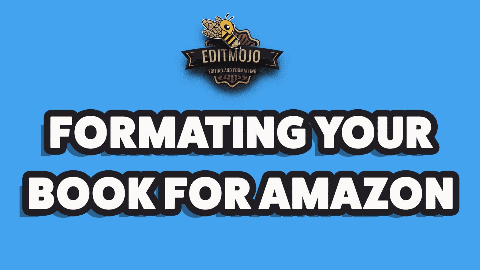 formatting your book for Amazon