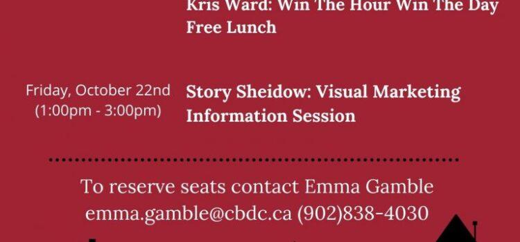 CBDC Presents: Visual Marketing with Storey Sheidow