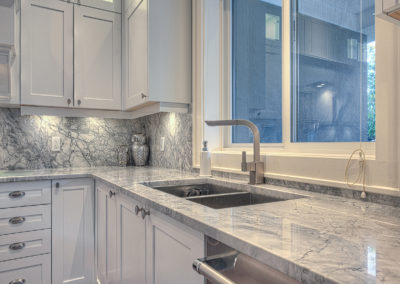 Countertop with Kitchen sink