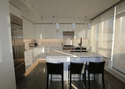 long shot kitchen