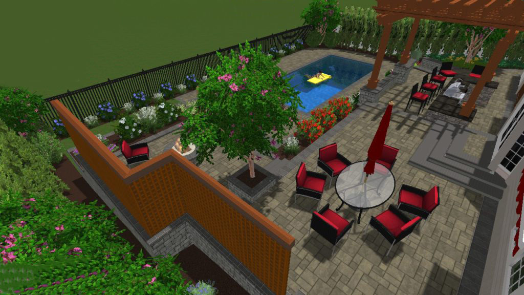 David Ash Landscaping Company Planning With A Landscape